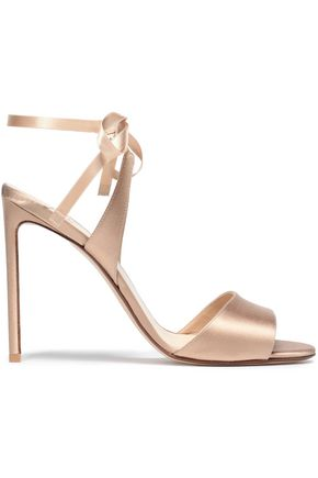 FRANCESCO RUSSO Satin sandals