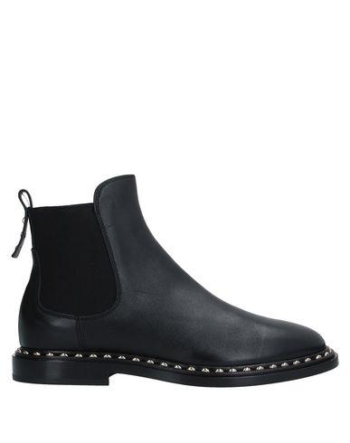 Купить Полусапоги и высокие ботинки от AGL ATTILIO GIUSTI LEOMBRUNI черного цвета