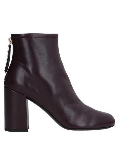 Купить Полусапоги и высокие ботинки от AGL ATTILIO GIUSTI LEOMBRUNI цвет баклажанный