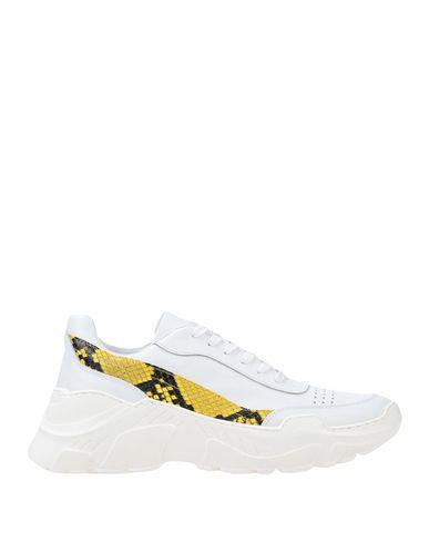 Купить Низкие кеды и кроссовки от LEMARÉ белого цвета