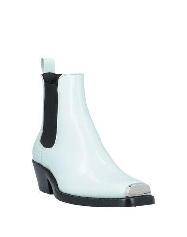 Фото 2 - Полусапоги и высокие ботинки небесно-голубого цвета