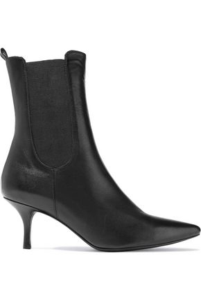 ANINE BING Stevie Tallboy leather ankle boots