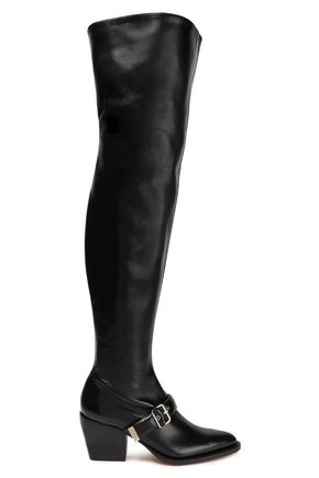 CHLOÉ Rylee leather over-the-knee boots