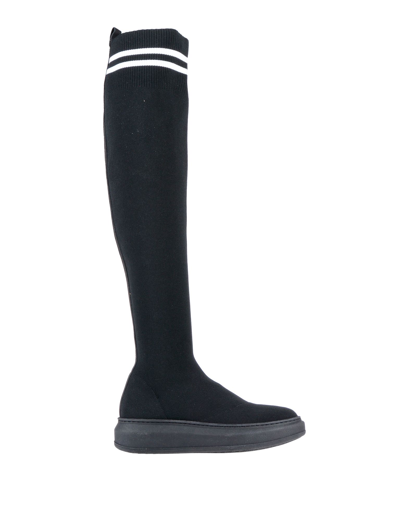 《送料無料》BLACK TRUE レディース ブーツ ブラック 36 紡績繊維