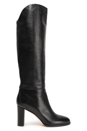 JIMMY CHOO Leather knee boots