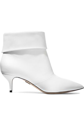 PAUL ANDREW Banner 55 leather ankle boots