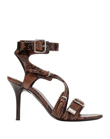 Фото - Женские сандали CHLOÉ коричневого цвета