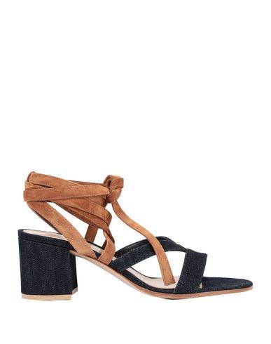 Фото - Женские сандали  синего цвета