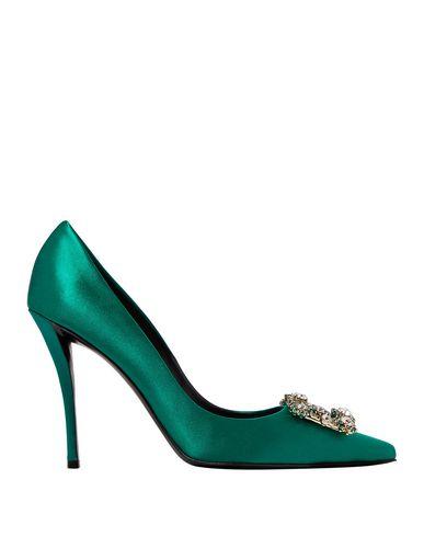 Фото - Женские туфли  изумрудно-зеленого цвета