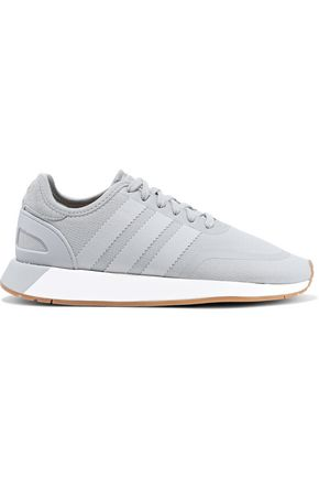 ADIDAS ORIGINALS N-5923 suede-trimmed stretch-knit sneakers