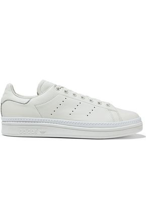 ADIDAS ORIGINALS Stan Smith New Bold perforated leather sneakers