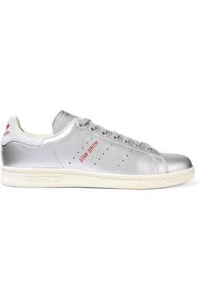 ADIDAS ORIGINALS Stan Smith metallic leather sneakers