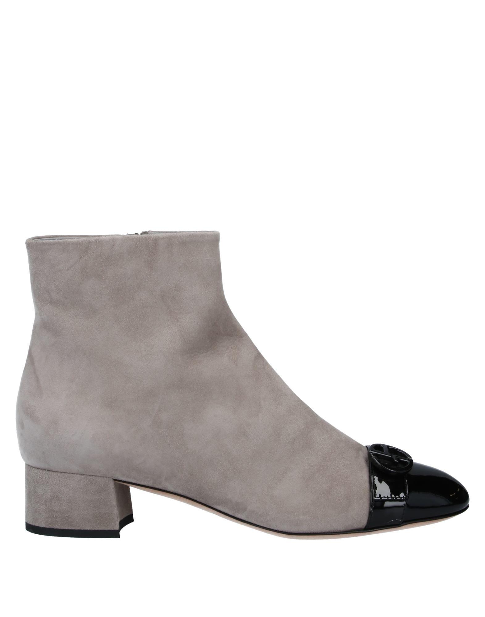GIORGIO ARMANI Полусапоги и высокие ботинки armani exchange полусапоги и высокие ботинки
