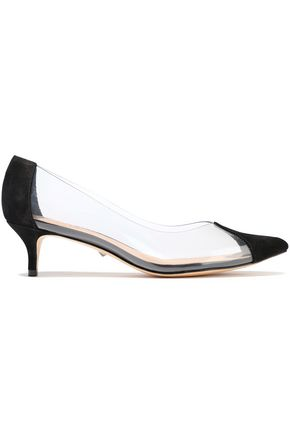 SCHUTZ PVC and nubuck pumps