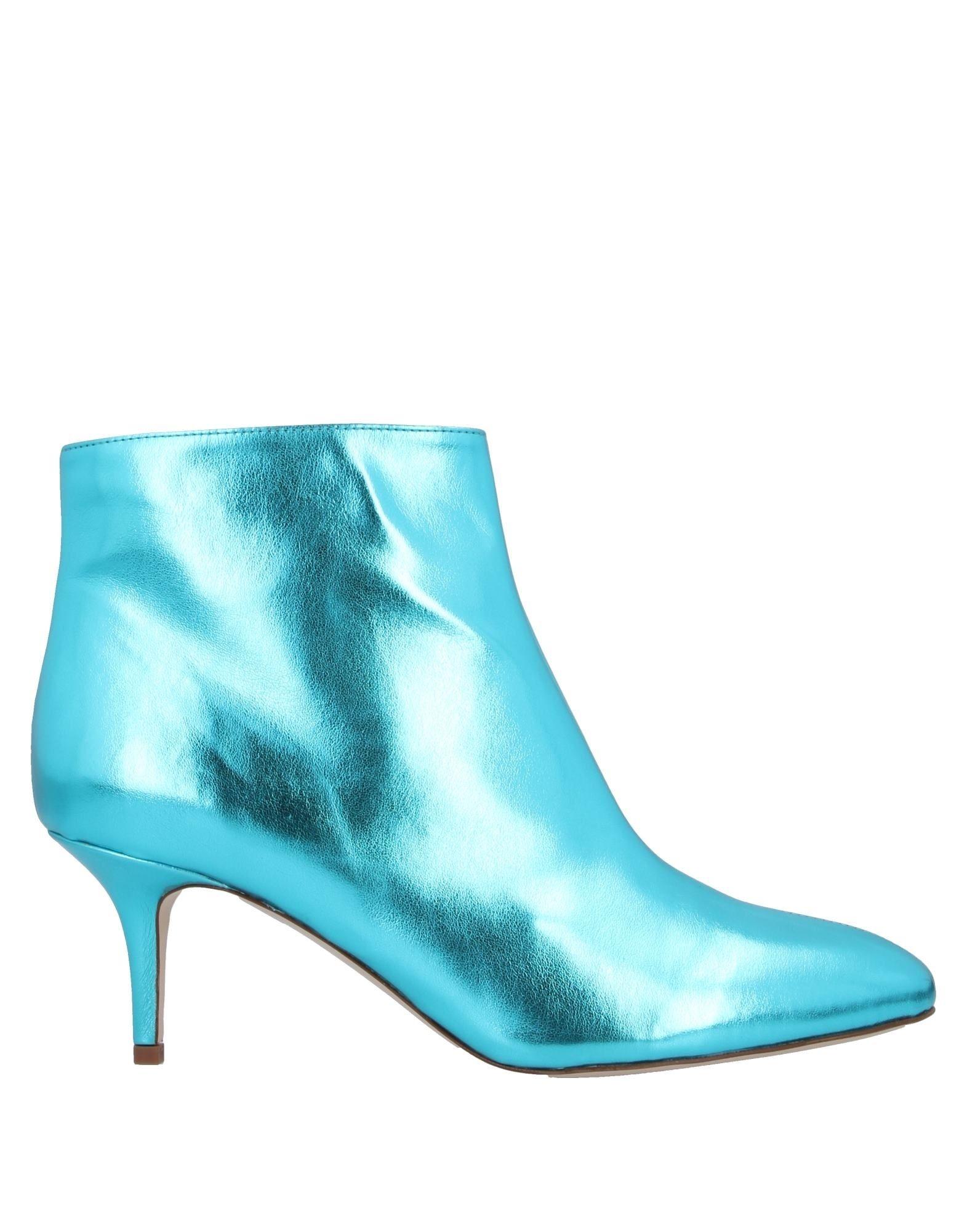 《送料無料》MARIE MAR? レディース ショートブーツ ターコイズブルー 39 革