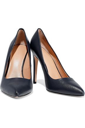 HALSTON HERITAGE Claudia leather pumps