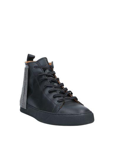 Фото 2 - Высокие кеды и кроссовки от BLACK DIONISO черного цвета