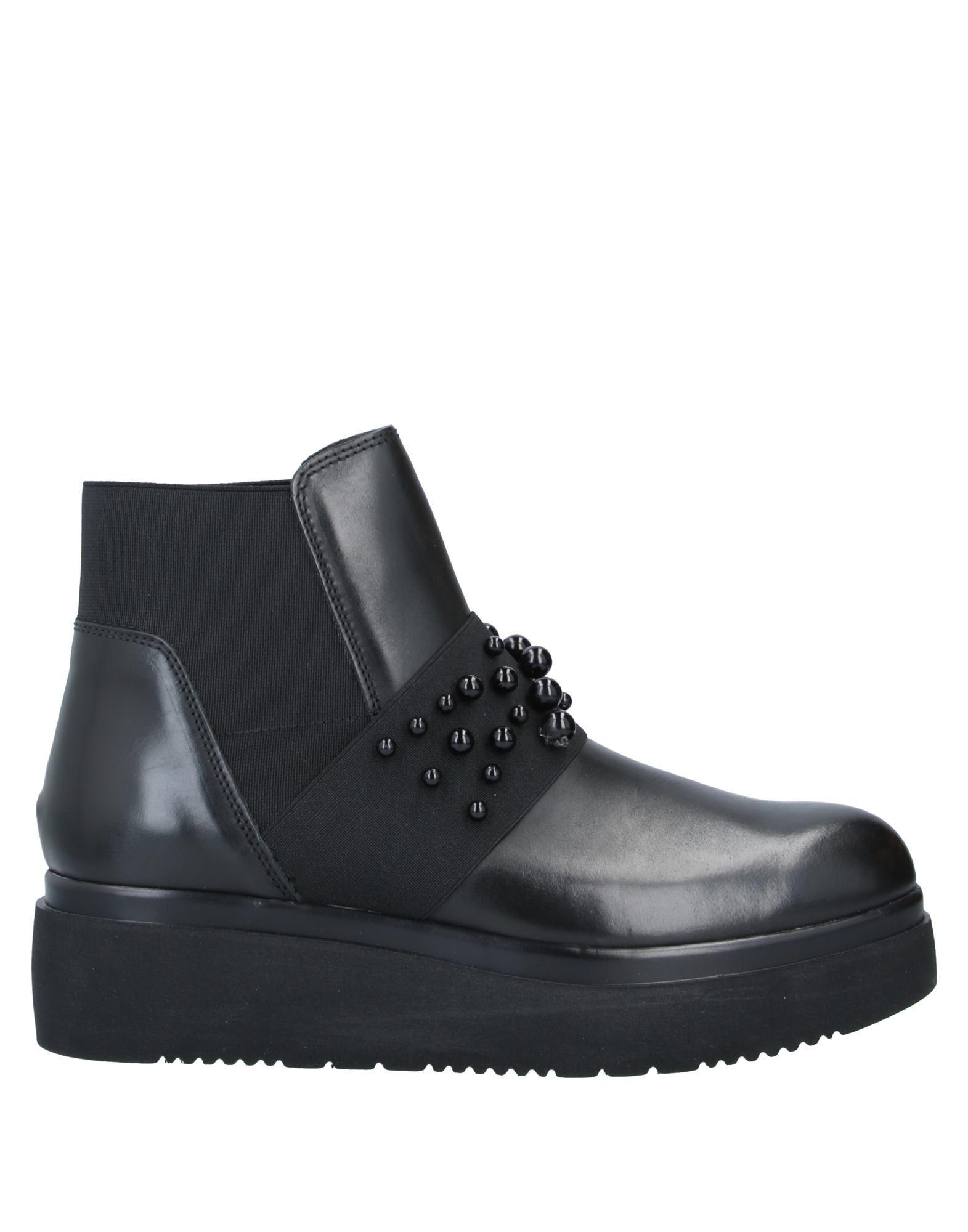 цена LEA FOSCATI Полусапоги и высокие ботинки онлайн в 2017 году