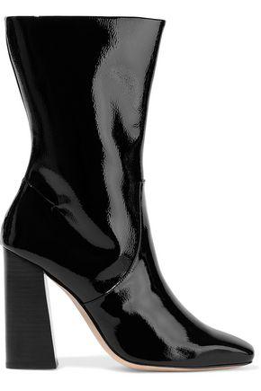 HALSTON HERITAGE Caroline patent-leather boots