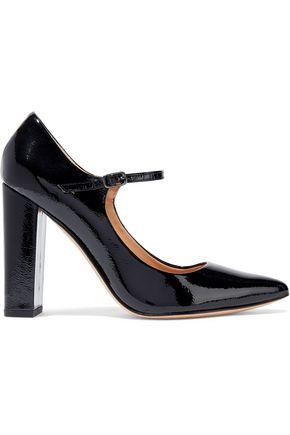 HALSTON HERITAGE Sally patent-leather Mary Jane pumps