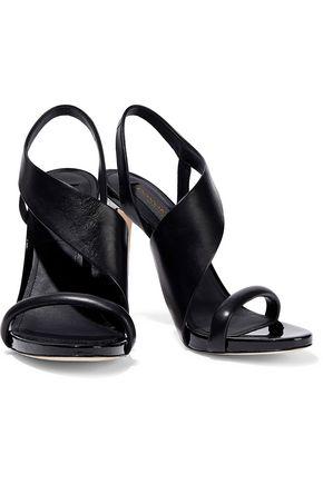 Donna Karan Sharon Leather Sandals In