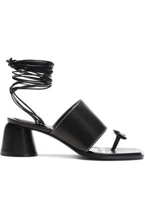 ELLERY Embellished leather sandals