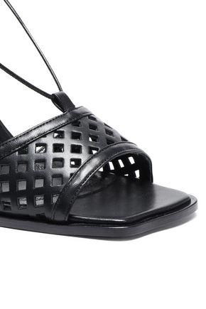 ELLERY Laser-cut leather sandals