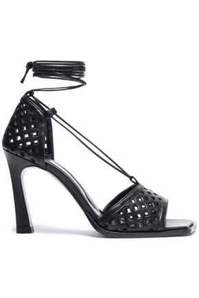 ELLERY Laser-cut leather sandals