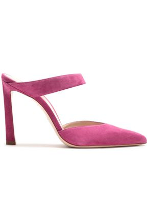 STUART WEITZMAN Eventually suede mules