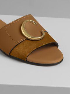 Chloé flat mule sandal