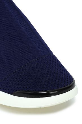 ACNE STUDIOS Stretch-knit high-top sneakers