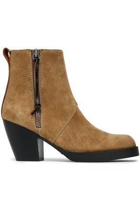 ACNE STUDIOS Pistol suede ankle boots