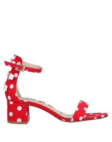 Фото - Женские сандали IKAROS красного цвета