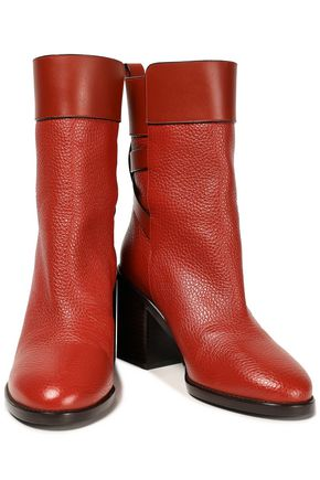 STUART WEITZMAN Joplin pebbled-leather boots
