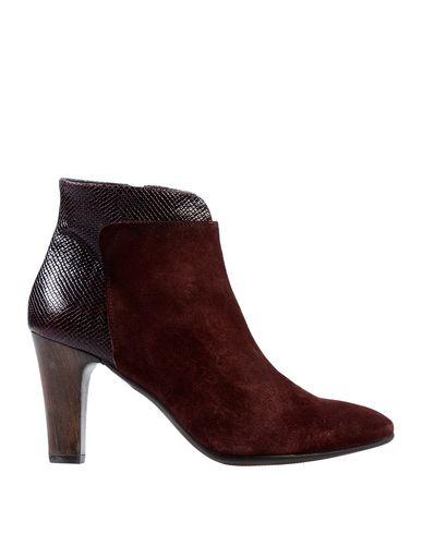 Купить Полусапоги и высокие ботинки красно-коричневого цвета