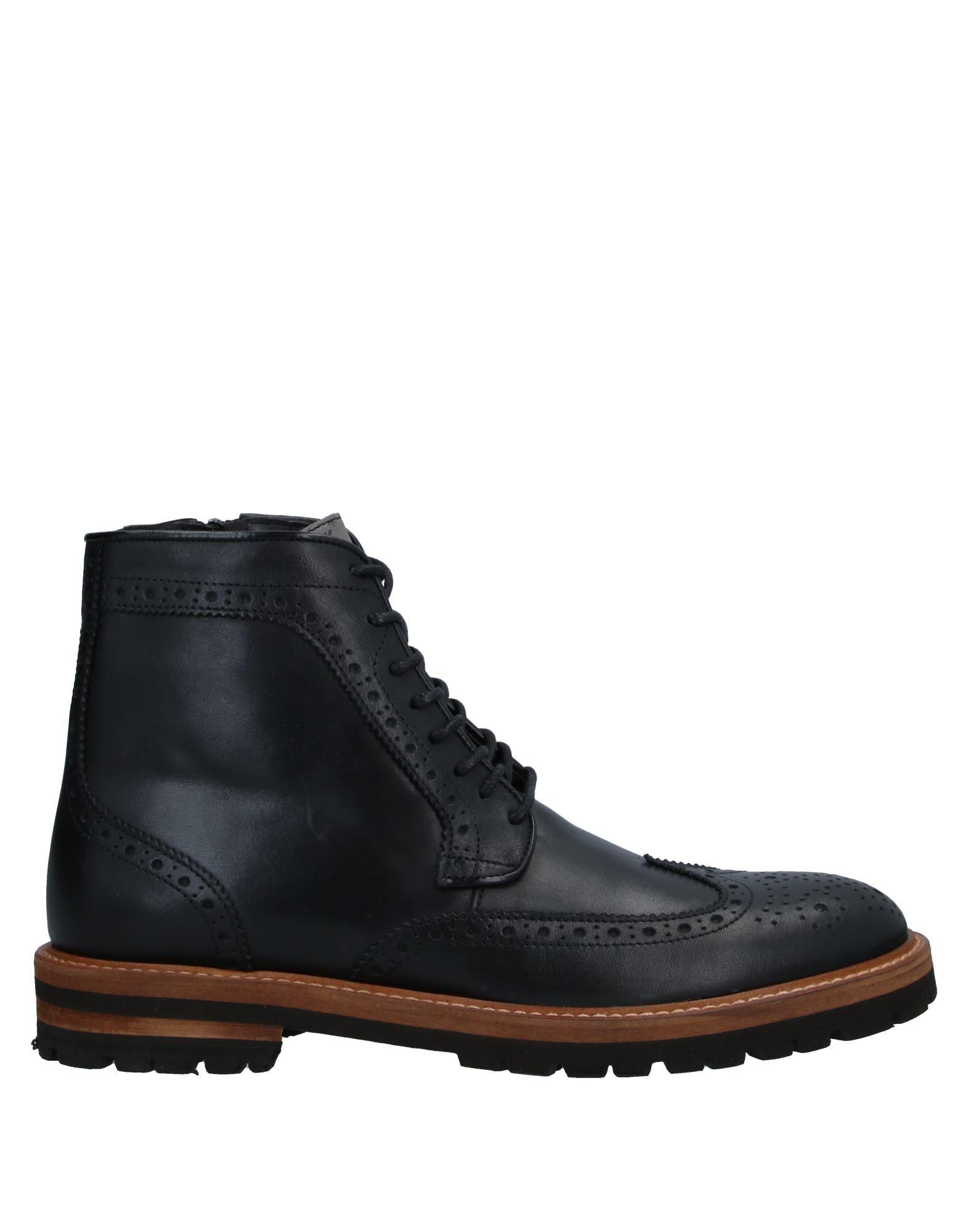 《セール開催中》ALVIERO MARTINI 1a CLASSE メンズ ショートブーツ ブラック 40 牛革(カーフ) 90% / 羊類革 10%