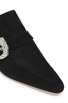 DORATEYMUR Cabriolet buckled leather mules
