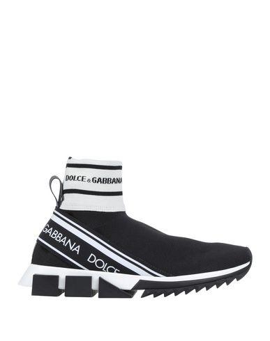 Купить Высокие кеды и кроссовки черного цвета