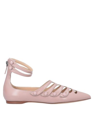 Фото - Женские балетки  пастельно-розового цвета