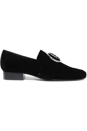 DORATEYMUR Embellished velvet loafers