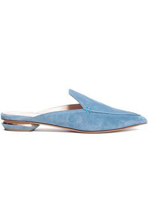 NICHOLAS KIRKWOOD Suede slippers