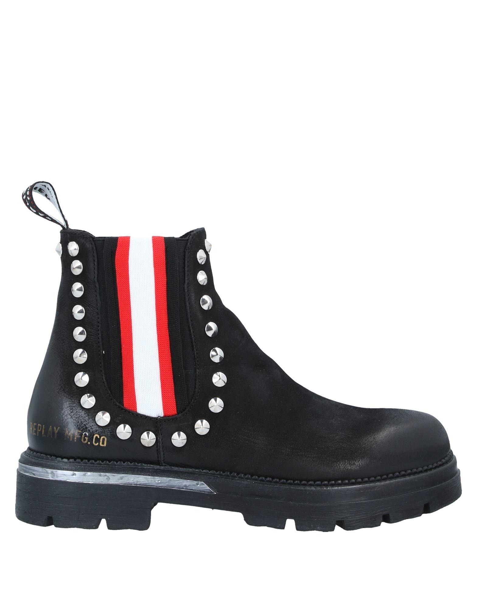 REPLAY Полусапоги и высокие ботинки