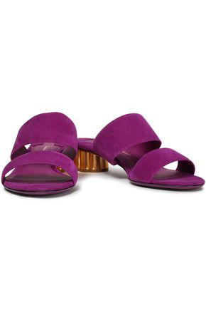 SALVATORE FERRAGAMO Suede sandals