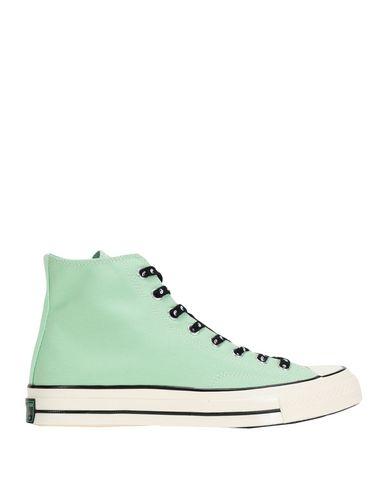 Фото - Высокие кеды и кроссовки от CONVERSE ALL STAR светло-зеленого цвета