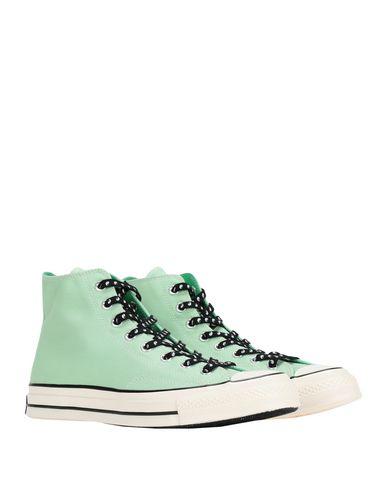 Фото 2 - Высокие кеды и кроссовки от CONVERSE ALL STAR светло-зеленого цвета