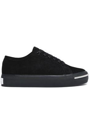 ALEXANDER WANG Suede sneakers