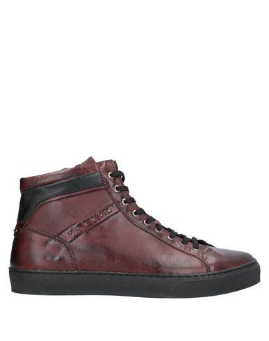 Фото - Высокие кеды и кроссовки от EXTON красно-коричневого цвета