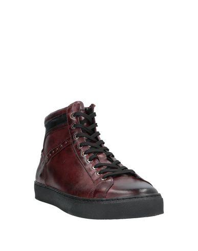 Фото 2 - Высокие кеды и кроссовки от EXTON красно-коричневого цвета