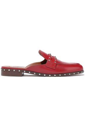 VALENTINO GARAVANI Soul Rockstud leather slippers