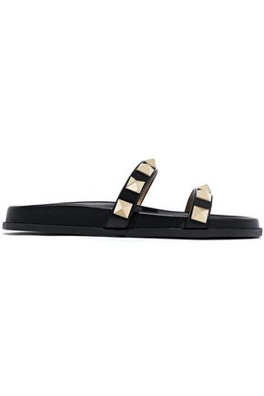 VALENTINO GARAVANI Soul Rockstud leather slides
